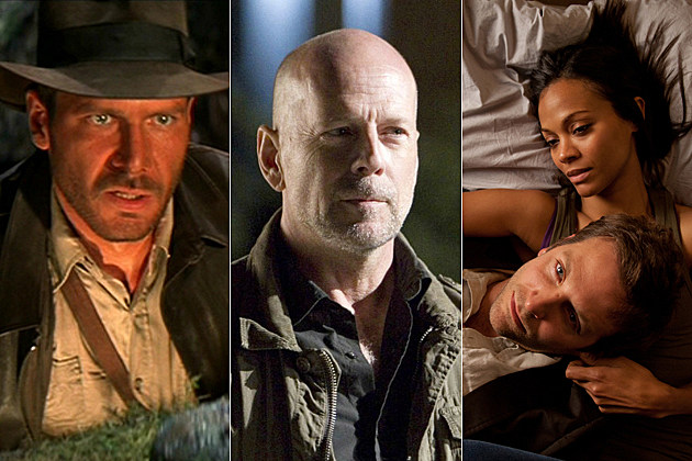 Harrison Ford, Bruce Willis, Bradley Cooper