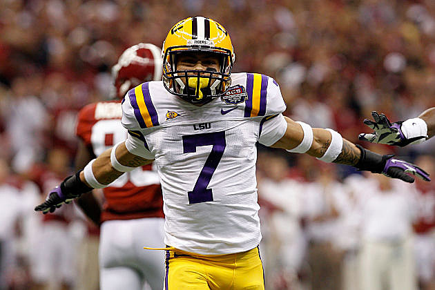 Tyrann Mathieu in the BCS National Championship Game