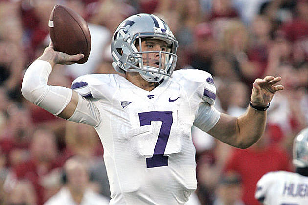Collin Klein can shake up the Heisman and national title races this week.