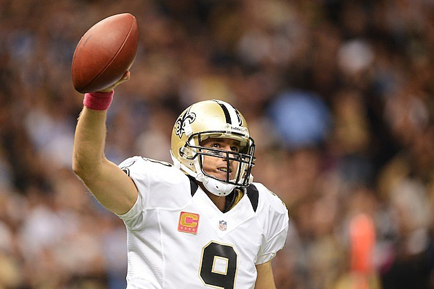 Drew Brees - Unitas record