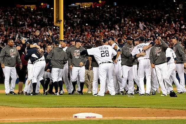 Detroit Tigers ALCS Sweep
