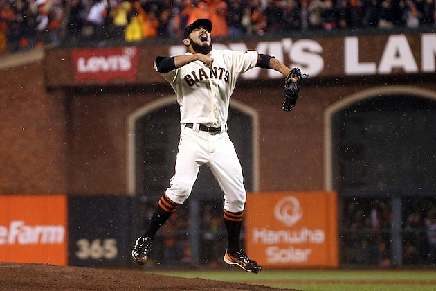 Giants win NLCS