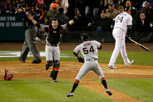 SF Giants Win 2012 World Series