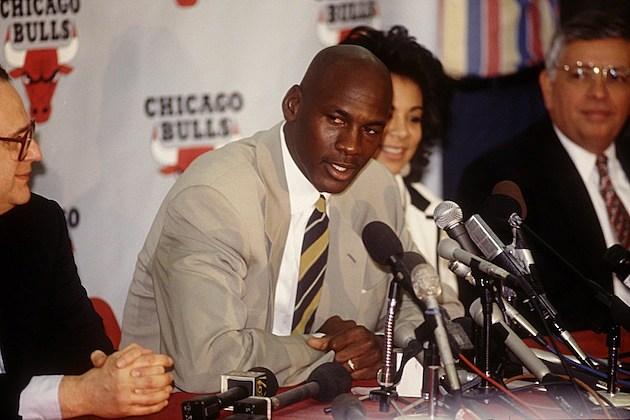 Michael Jordan Retires