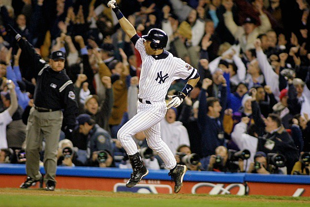 Derek Jeter Game 4 2001