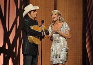 Brad Paisley Carrie Underwood CMAs