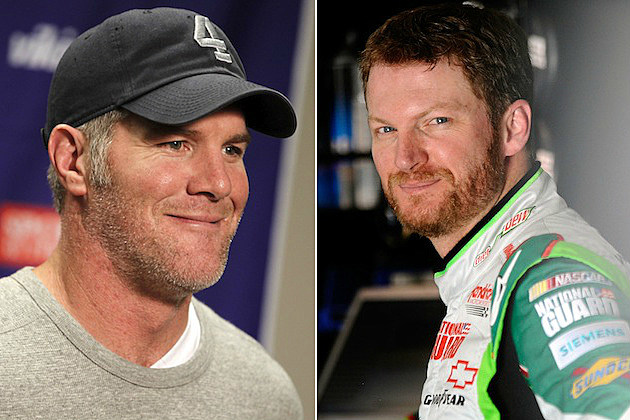 Favre and Earnhardt Jr.