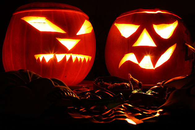 Jack O'Lanterns warded off evil spirits.
