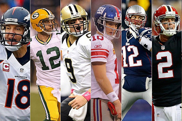 NFL's best quarterbacks