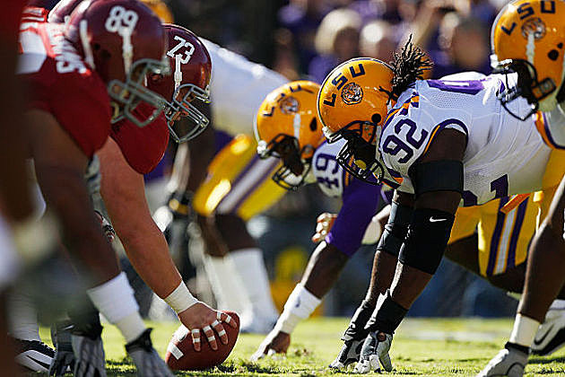 Alabama v LSU, Round 3