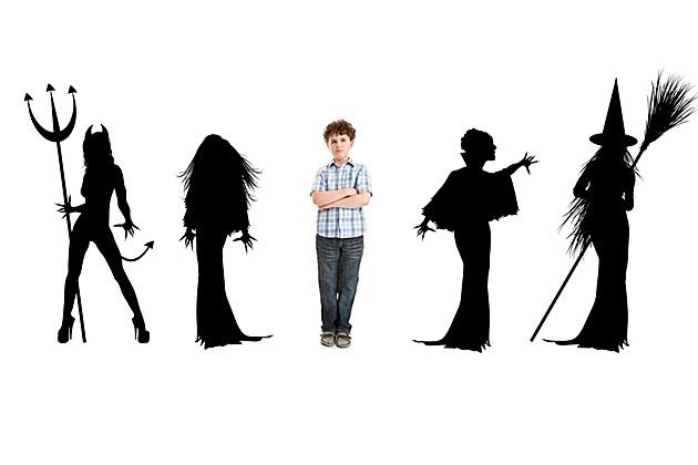 no costume kid