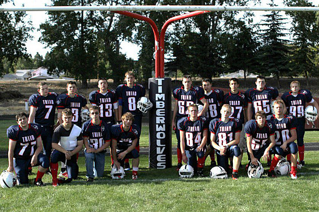 Triad High School football team