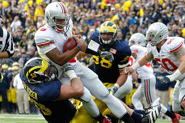 Michigan hopes to end Ohio State's unbeaten season.