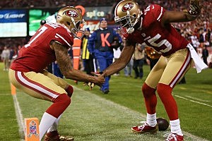 Colin Kaepernick; Michael Crabtree
