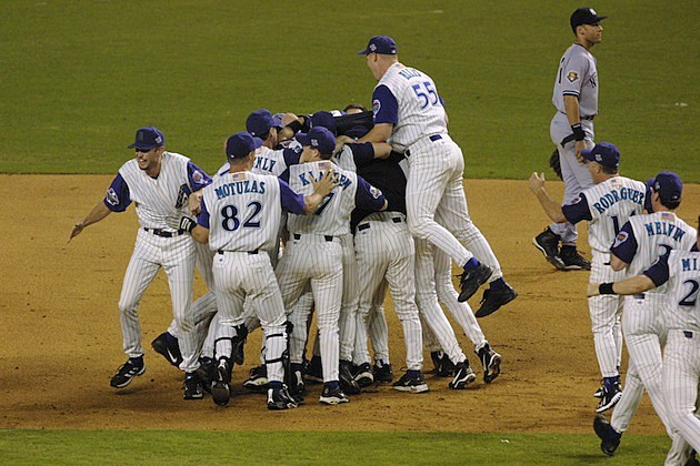 Game 7 2001 World Series