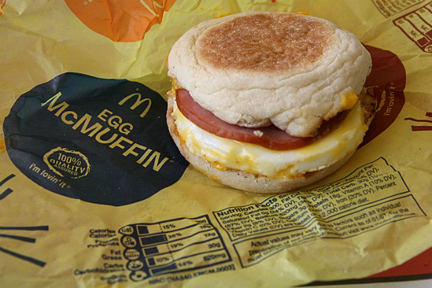 Fast Food Breakfast Sandwiches Can Harm Your Heart