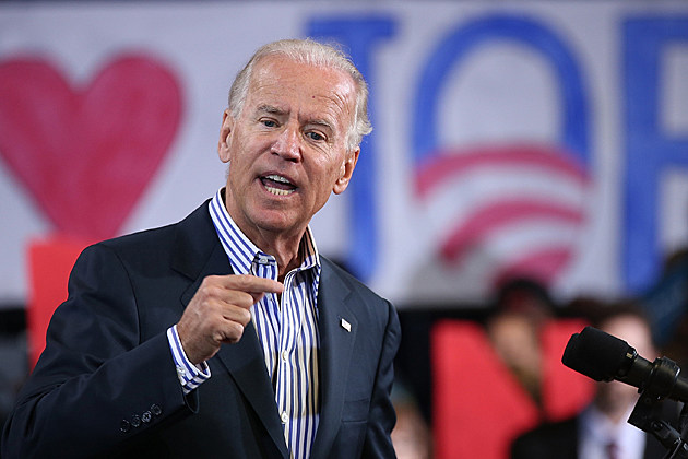 Joe Biden Campaigns At Virginia Fairgrounds