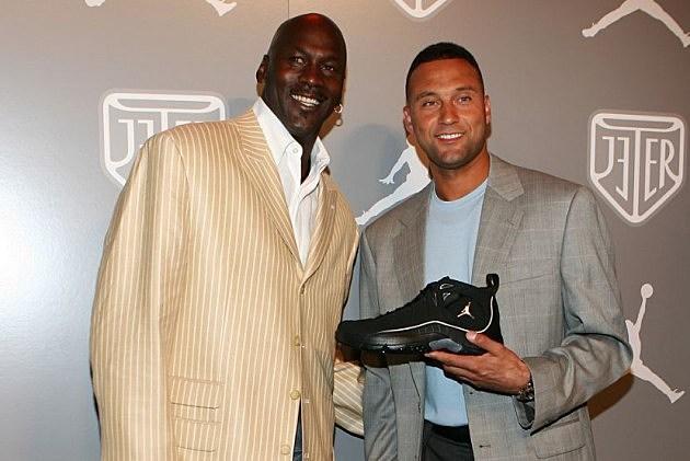 Michael Jordan Derek Jeter