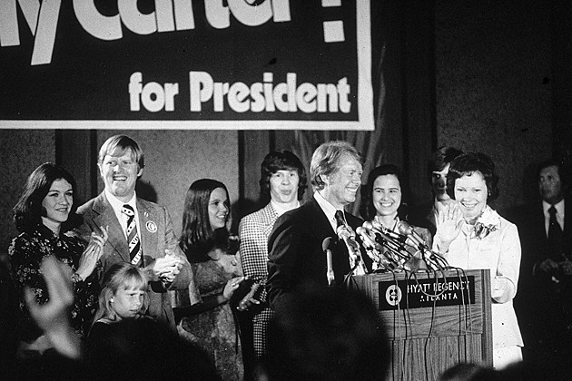 Jimmy Carter elected