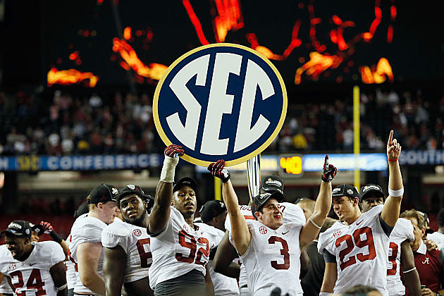 Alabama clinches SEC championship, national title shot