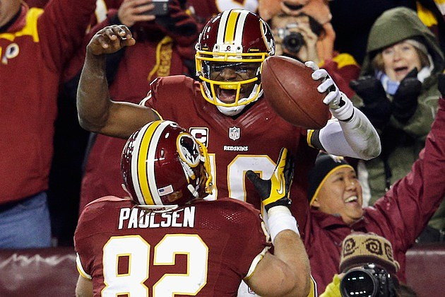 RG III Redskins Win