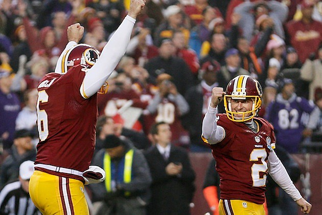 Washington Redskins OT win