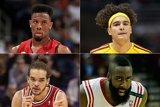 best NBA hair