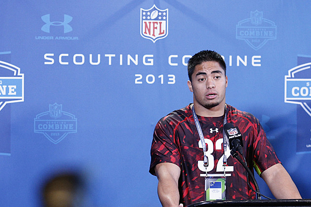 Manti Teo scouting combine press conference
