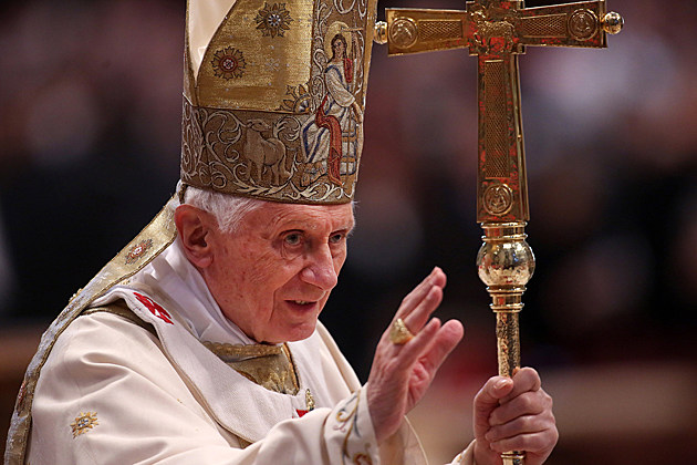 Pope benedict XVI Celebrates Mass With Newly Appointed Cardinals At St. Peter's Basilica