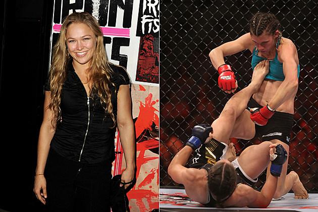 Ronda Rousey women MMA
