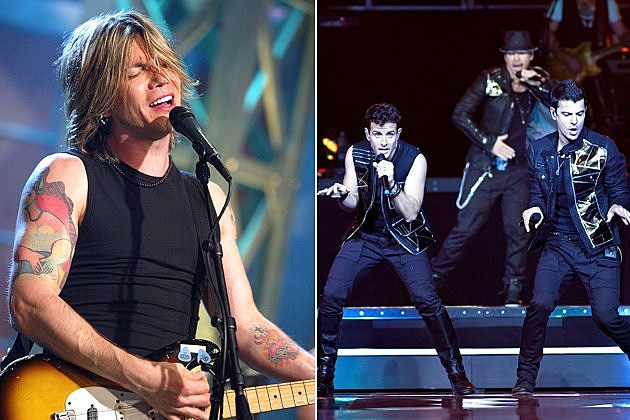 Goo Goo Dolls and New Kids on the Block at Live In The Vineyard