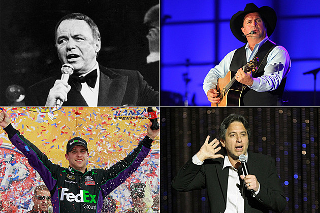 St Jude celebrities Frank Sinatra, Garth Brooks, Denny Hamlin, Ray Romano