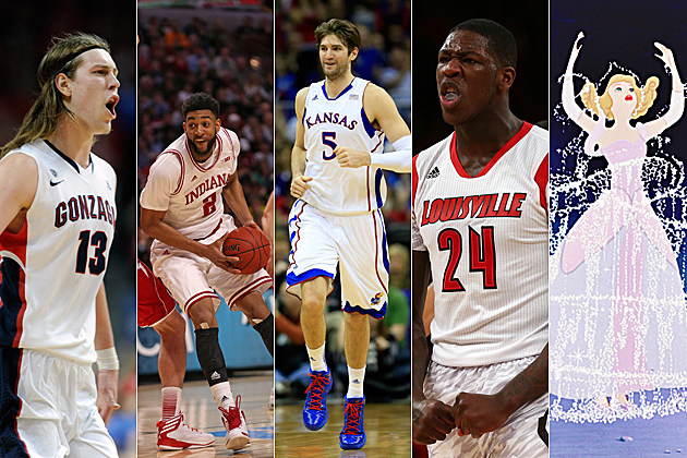 2013 NCAA top seeds plus Cinderella