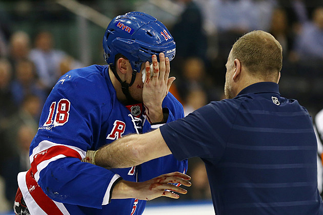 Marc Staal eye injury