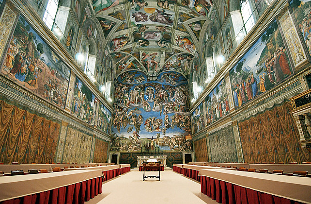 Sistine Chapel Ready to Host The Conclave