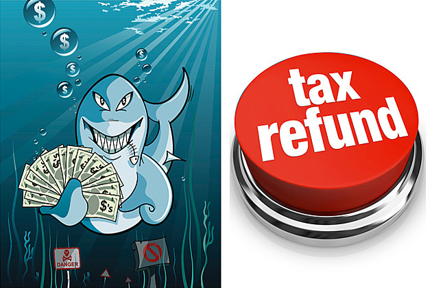 tax refund loan shark