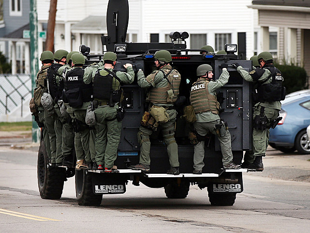 Manhunt in Watertown
