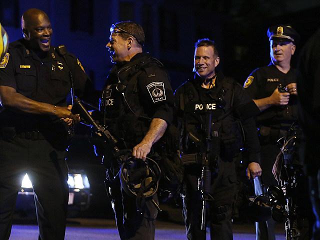 Police Celebrate Capture of Marathon Bombing Suspect