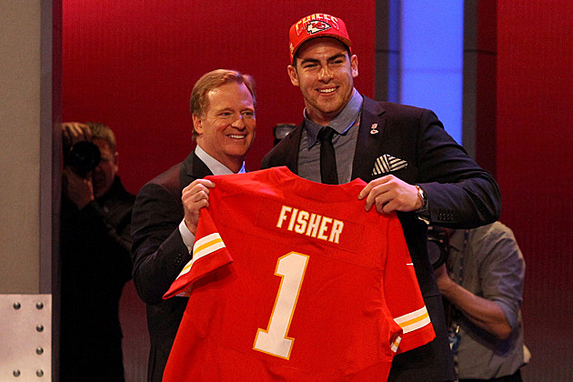 Eric Fisher Roger Goodell