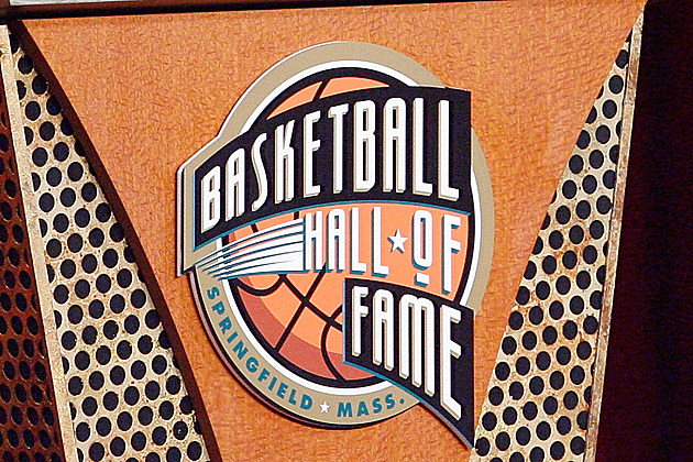 basketball HOF podium