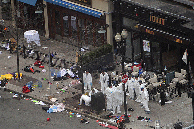 investigators at Boston Marathon