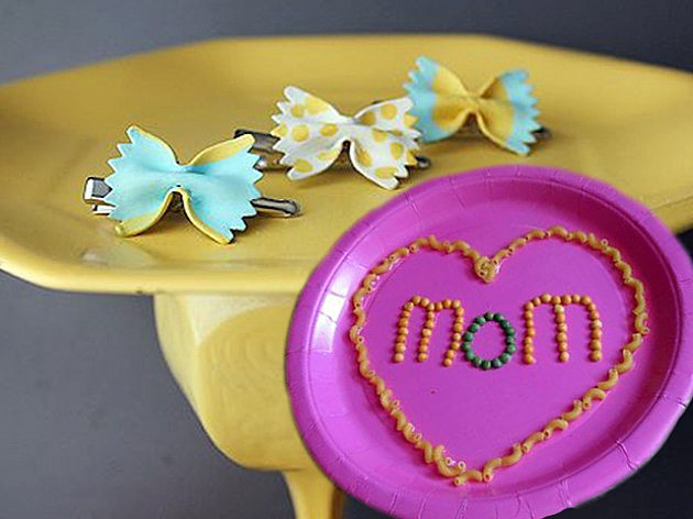 Mother's Day Macaroni Art