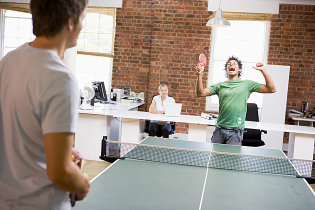 office ping-pong game