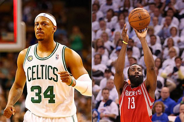 Paul Pierce James Harden