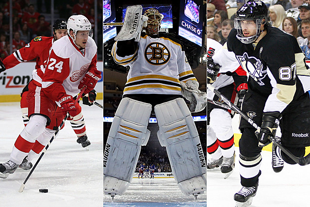 Red Wings Bruins Penguins