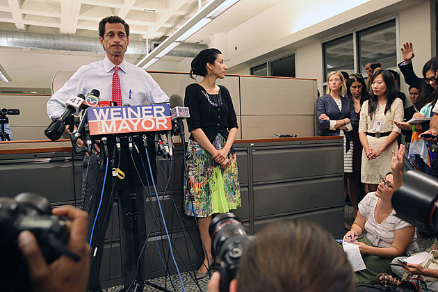 Anthony Weiner Holds Press Conference As New Sexting Evidence Emerges