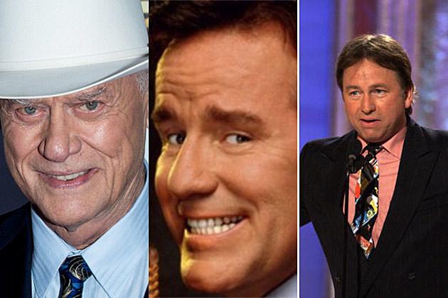 Larry Hagman, Phil Hartman, John Ritter