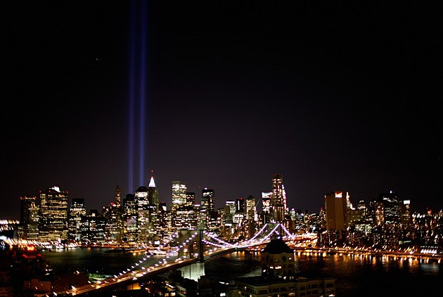 Ground Zero Memorial Lights