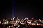 Ground Zero Memorial Lights