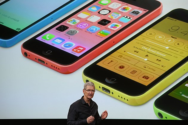 Tim Cook discusses iPhone 5C